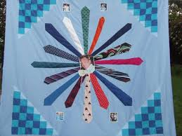 Memory Quilt Ideas You'll Love - On Craftsy! & Memory quilt made from ties. Adamdwight.com