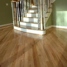 5 wide prefinished solid red oak flooring