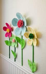 fabric flowers 3d flower wall decor