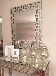 mirrored furniture room ideas. nikki_rou0027s opulent entryway gets a dose of dimension from our santorini mirror sophie mirrored furniture room ideas s