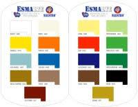 Amercoat 450h Color Chart