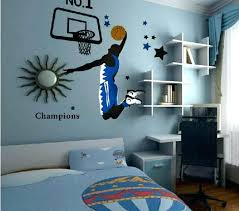 basketball wall decals kids sports decor decorating cookies with vinyl basketball wall decals