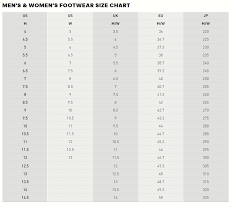 Adidas Men And Women Size Chart Tfc Football