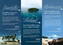 Travel Brochure Template 3 Fold - Brickhost #2596B585Bc37