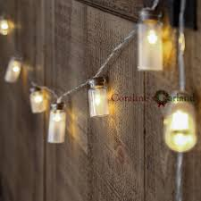20 Led Lights Battery Operated Us 9 48 Novelty Glass Jar Led String Lights With 20 Led Lights Battery Operated For Wedding Party Fairy Lights Christmas Decoration In Led String