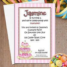 Birthday Child Invitation Cards Ebay