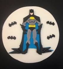 Batman Edible Fondant Cake Topper 18cm 7 Inches 3499