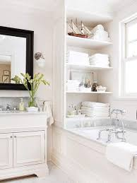 space saving ideas for small bathrooms. small white bathroom space saving ideas for bathrooms i