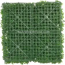 uland 4pcs of artificial boxwood hedge mat faux boxwood privacy fence screen light green color 20 x20 agw 31