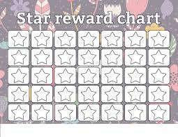 Printable Star Charts Star Reward Charts Printable Shelter