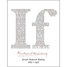 steps to writing if by rudyard kipling essay