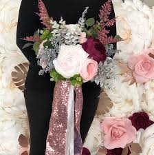 Paper Flower Bouquet Etsy Paper Flower Bouquet