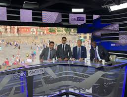 26 jun yaya touré enjoys time with bein sports at world cup
