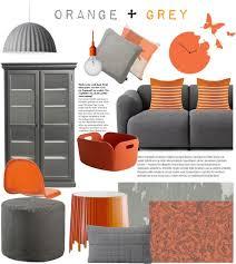gray living room decor with orange inspiration of gray and orange bedroom best grey on burnt