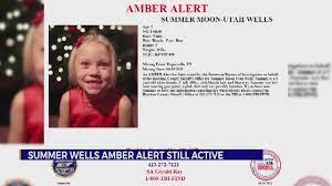 TBI: AMBER Alert for Summer Wells will ...