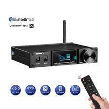 AIYIMA D05 5,0 Bluetooth Sound Verstärker 120W × 2 HIFI 2,1 Kanal Digital  Power Verstärker Subwoofer Amp USB DAC OLED Remote APTX - 0% OFF