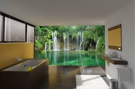 Beautiful Wall Murals Design For Your Dream Bathroom