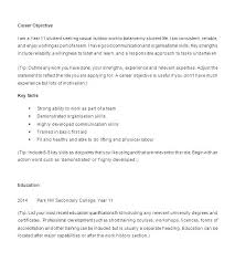 What To Put On Resume If No Experience High School Resume Examples