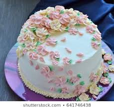 Beautiful Birthday Cake Stock Photo Edit Now 641746393 Shutterstock