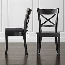 wood dining room chair. Vintner Black Wood Dining Chair And Cushion Room