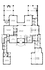 House Plan at FamilyHomePlans comItalian House Plan Level One