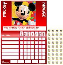 Mickey Mouse Behavior Charts For Preschool Google Search