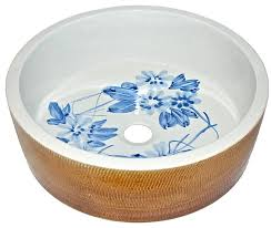 anese garden porcelain vessel sink asian bathroom sinks