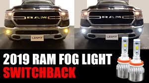 Fog Lights For Dodge Ram 1500 How Does Switchback Led Fog Light Work 2019 2020 Ram 1500 Bighorn
