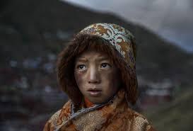 Frayer Boy Flashofgod Kevin Frayer A Tibetan Buddhist Nomad Boy Is