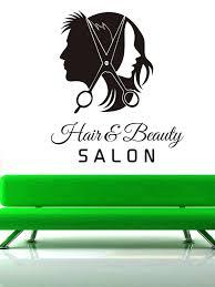 best of large wooden scissors wall art salon wall decal beauty beauty salon wall art salon image permalink