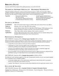Sample Help Desk Support Resume Desktop Support Analyst Jobs Afalina