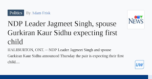 In addition to facing a highly anticipated fall election, the leader of the federal ndp is soon to be a dad. Gufalu9aa7g2mm