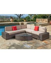 Waterproof cushions for outdoor furniture Bright Suncrown Outdoor Furniture Sectional Sofa Wedge Table 6piece Set All Setting For Four Amazing Deal On Suncrown Outdoor Furniture Sectional Sofa Wedge