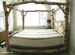 Queen Size Canopy Bed Frame Canopy Bed Frame Full Canopy Bed Full ...