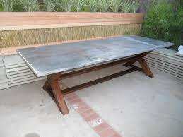 zinc dining room table. Picture Of Zinc Dining Table Room E