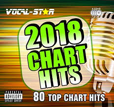 Karaoke 2018 Chart Hits Cdg Cd G Disc Set 80 Songs On 4 Discs Including The Best Ever Karaoke Tracks Of All Time From Vocal Star Karaoke