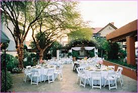 Bright And Colorful Backyard Wedding  Rustic Wedding ChicSummer Backyard Wedding