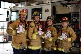 Huntington Firefighters Hope To Comfort Young Victims With Plushie