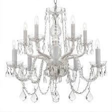 10 light empress crystal chandelier