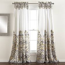 Lush Decor Lake Como Curtains Lush Decor Curtains Drapes The Mine
