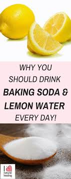 You may have heard of the benefits of drinking lemon juice with a little baking  soda