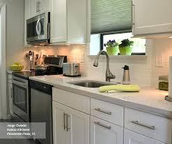 galley kitchen white cabinets white shaker style cabinets in a galley kitchen galley kitchen off white