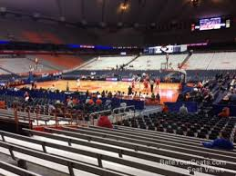 Carrier Dome Section 107 Syracuse Basketball