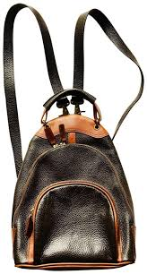other leather mini purse backpack image 0