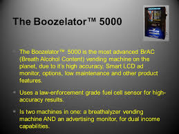Breathalyzer Vending Machine Reviews Simple The Boozelator™ 48 Breathalyzer Vending Business By Blo Dad Sons