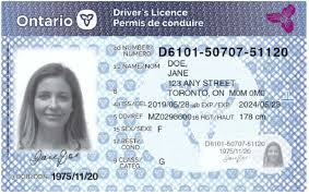 Prevent Theft To Driver's Fraud Licence Identity Cards Redesigns Ontario