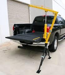 Trailer Hitch Crane Mounted Portable Professional Pickup Truck Lift ...