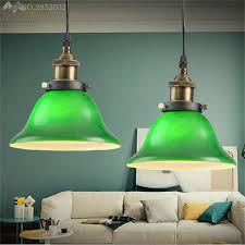 jw_postmodern pendant lights emerald green glass edison lamp restaurant bar coffee dining room green pendant lights o14