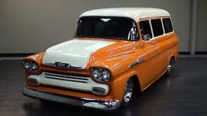 1958 Chevrolet Suburban Hot Rod Apache Carryall - YouTube