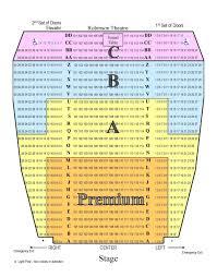 Rational Robinson Center Seating Robinson Auditorium Little